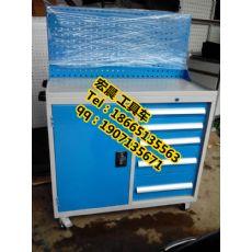 供应车间重型工具柜|带挂板工具车