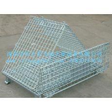 镀锌铁笼|折叠式仓储笼 厂家直销 非标可定做