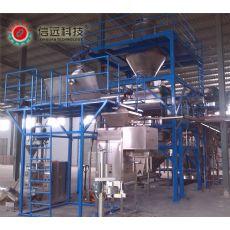 冲施肥水溶肥粉剂自动包装生产线
