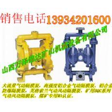 BQG-150/0.4风动隔膜泵二连浩特钻机清洗气动防爆隔膜泵