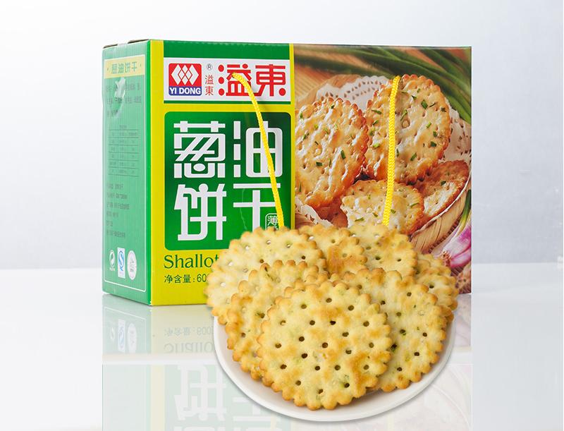葱油饼干(600g)