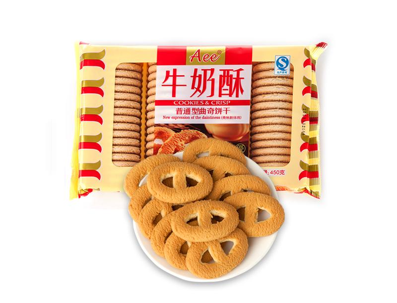 Aee牛奶味曲奇饼干(450g)
