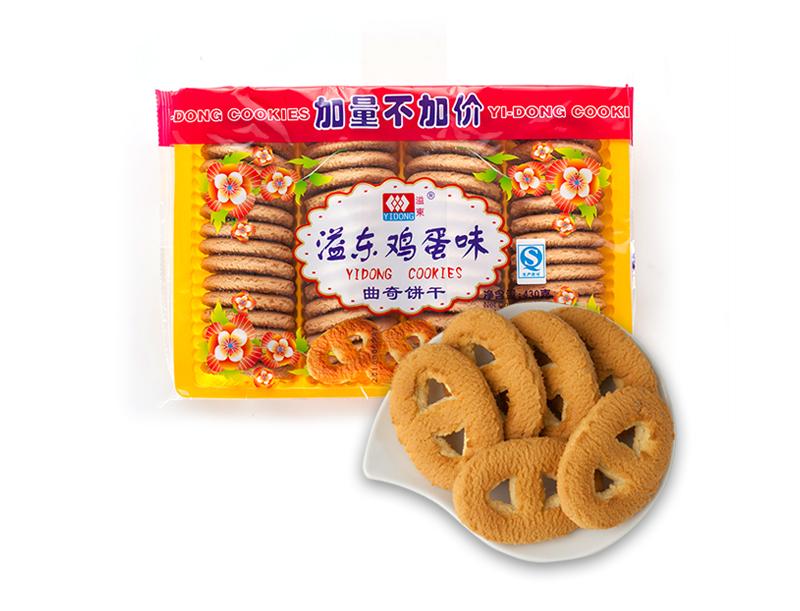 鸡蛋味曲奇饼干(430g)