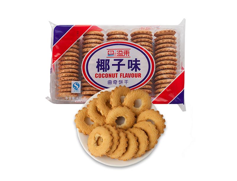 椰子味曲奇饼干(430g)