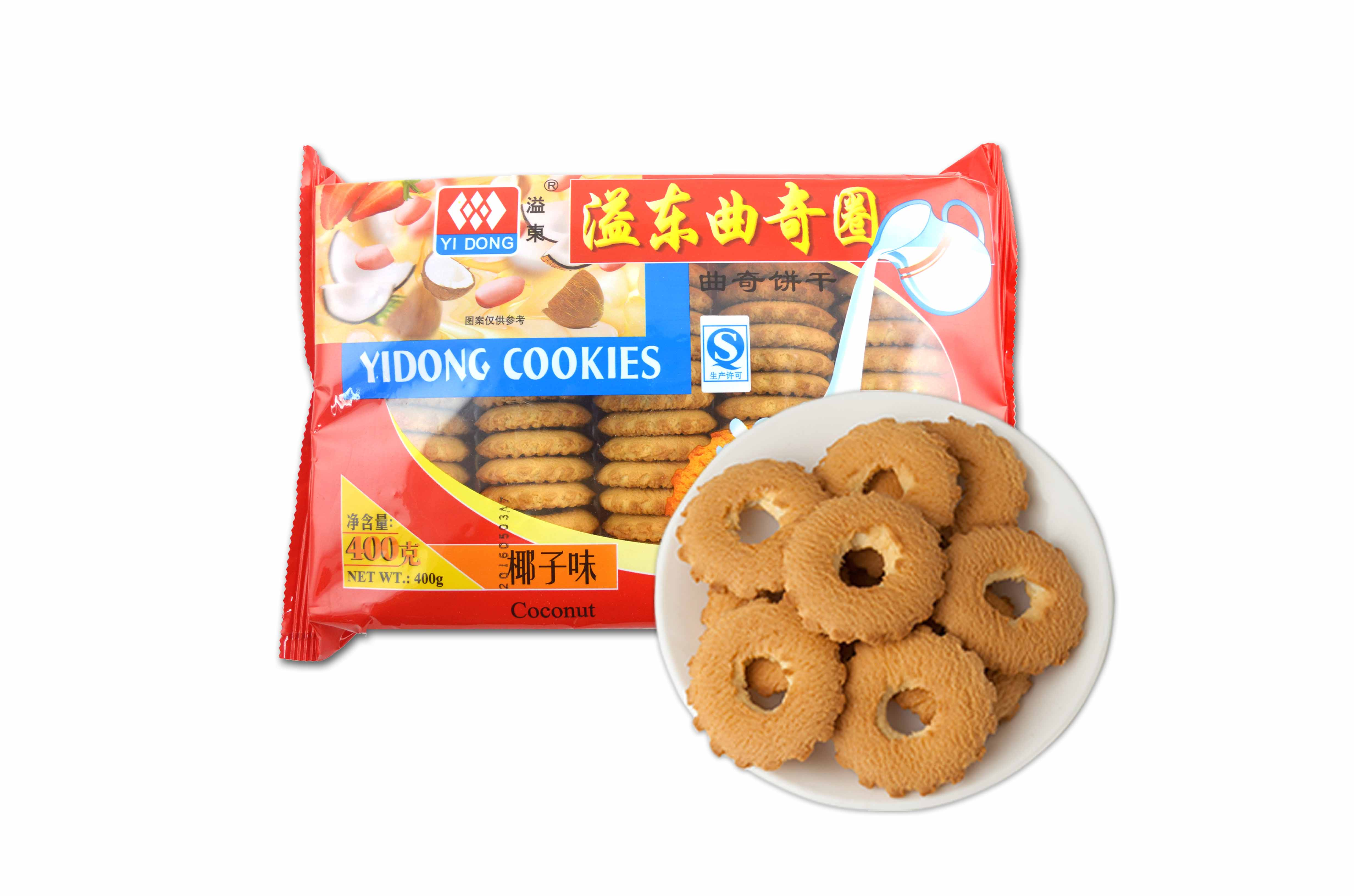 椰子味曲奇饼干(400g)