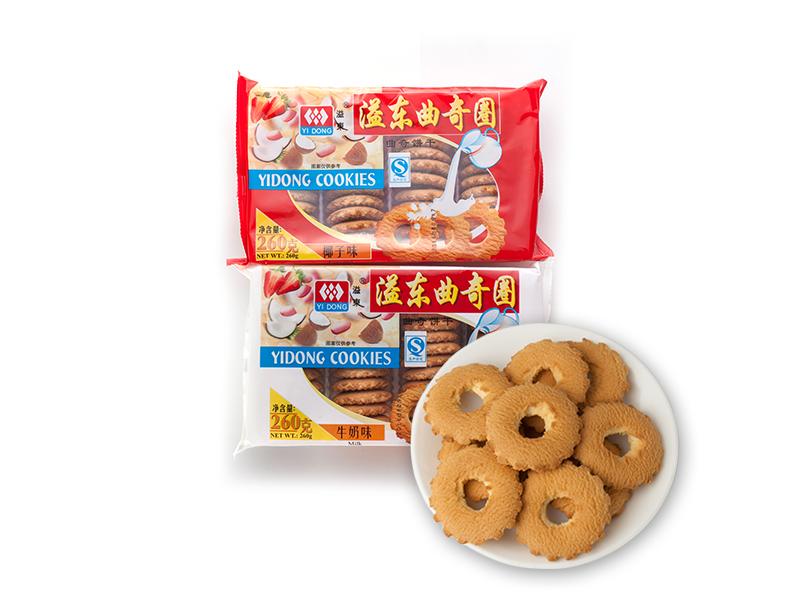 椰子味曲奇饼干(260g)