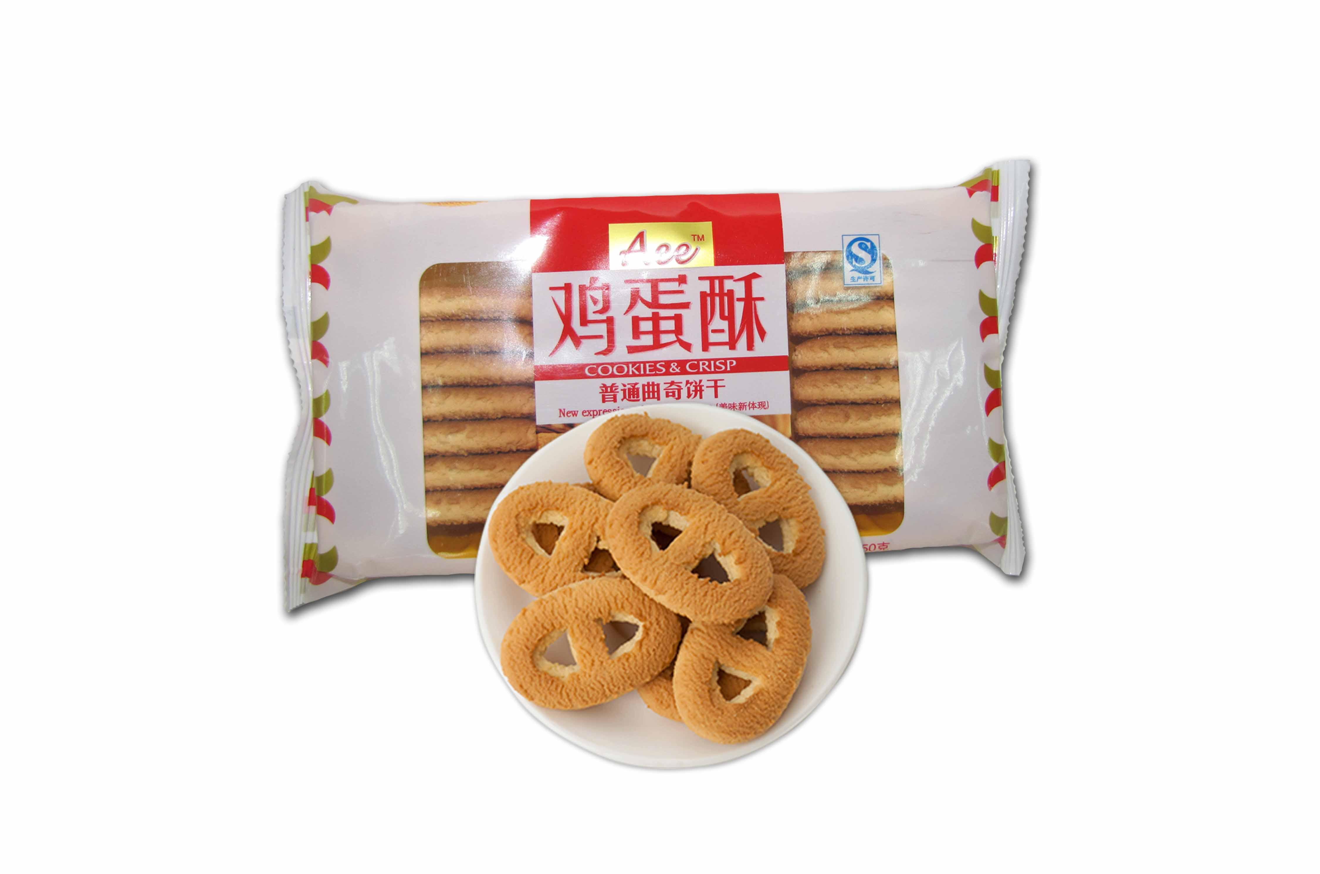 AEE鸡蛋味曲奇饼干(150g)