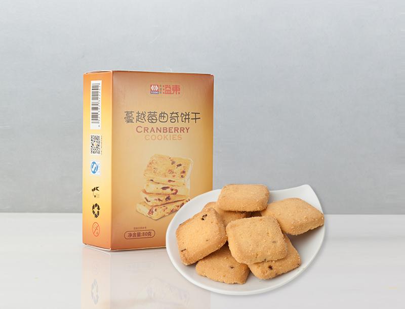 蔓越莓曲奇饼干(80g)
