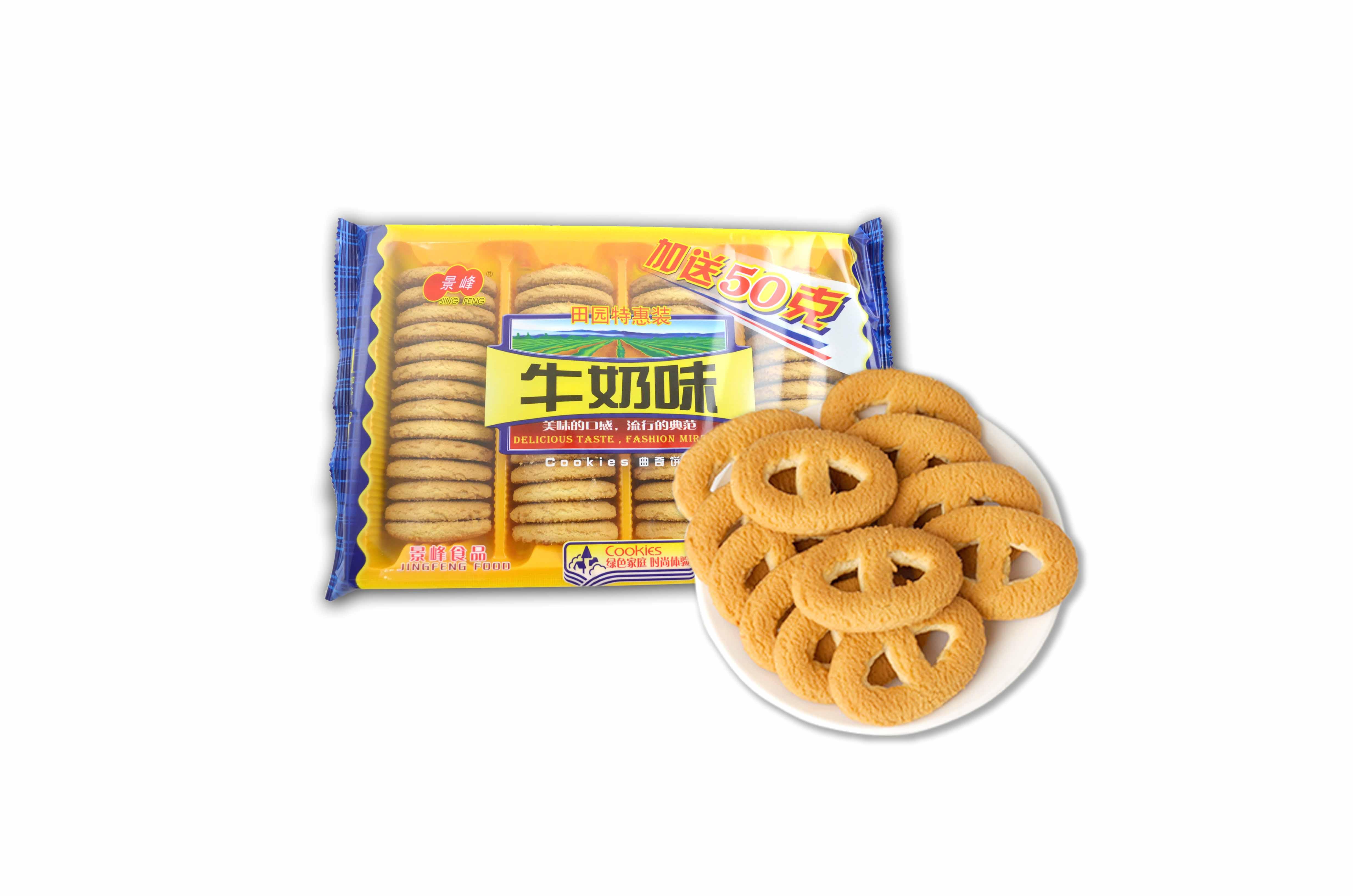 牛奶味曲奇饼干(380g)