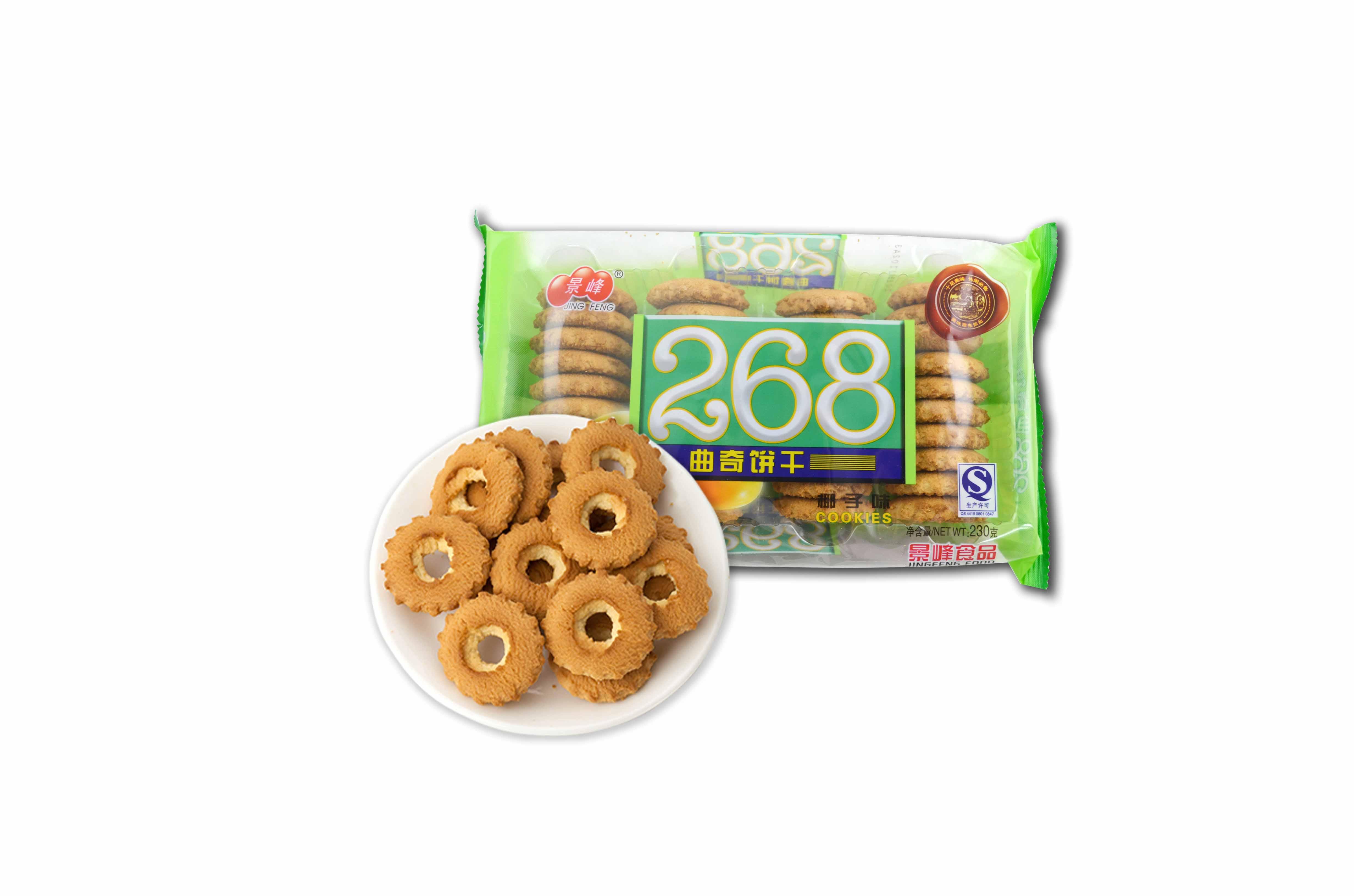 椰子味曲奇饼干(230g)