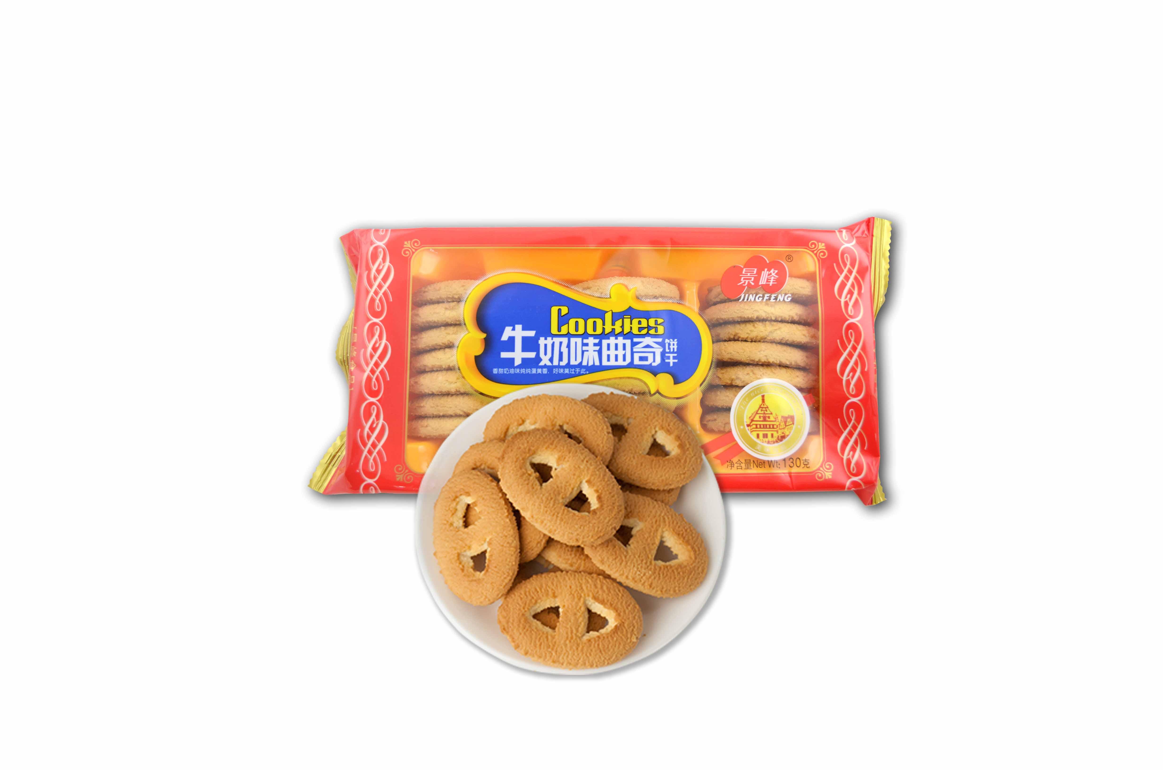 牛奶味曲奇饼干(130g)
