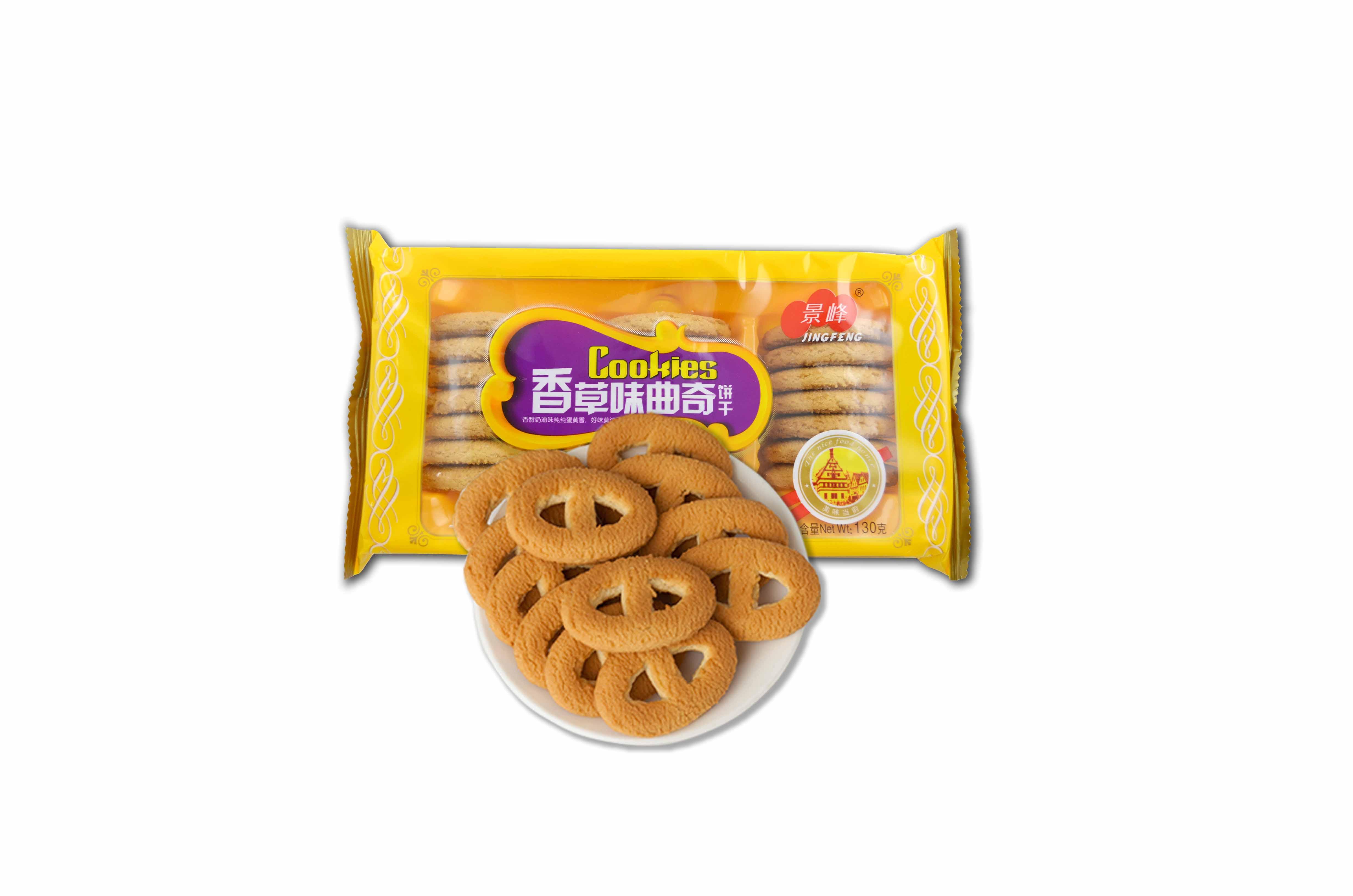 香草味曲奇饼干(130g)