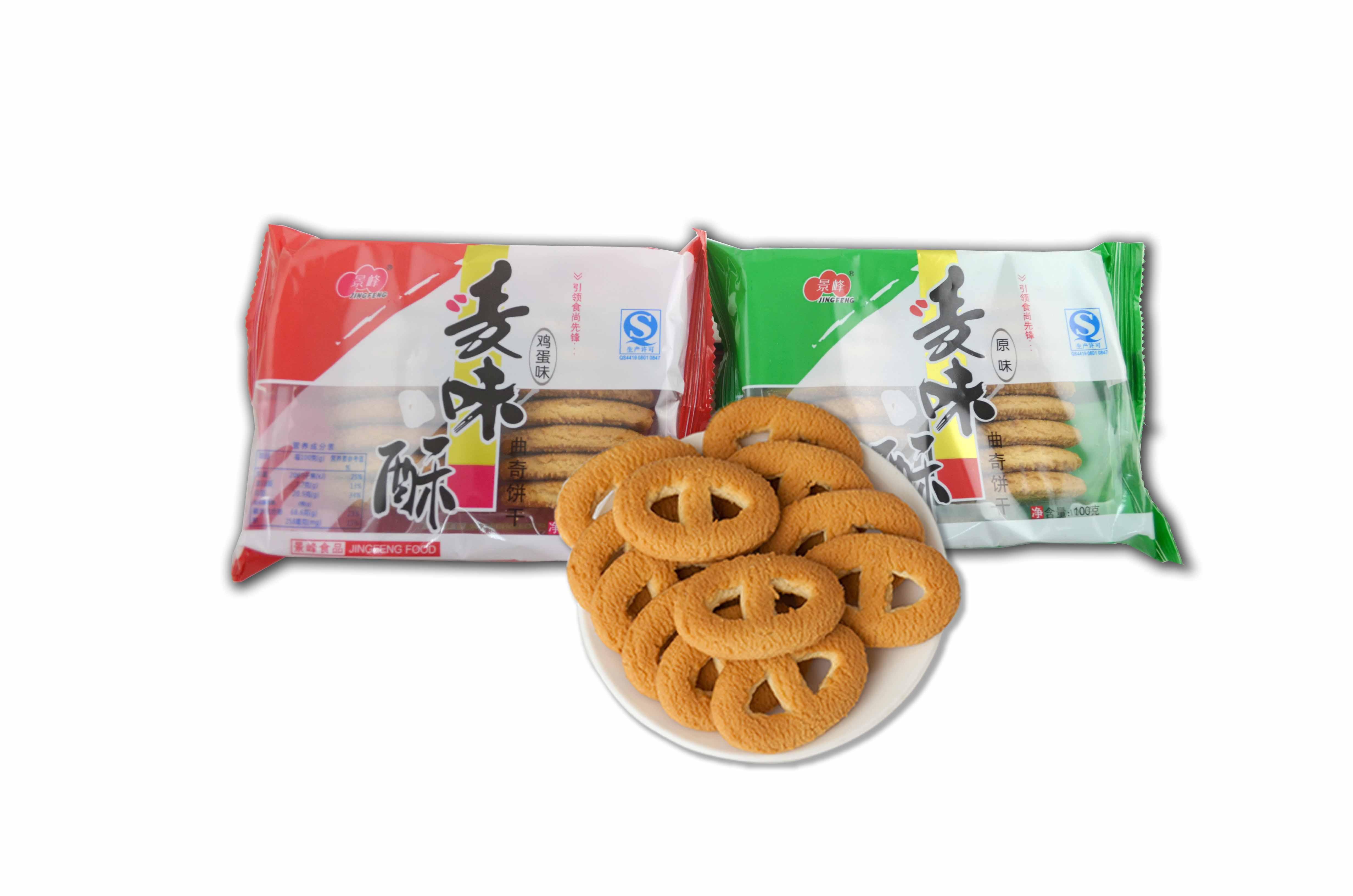 麦味酥曲奇饼干(100g)