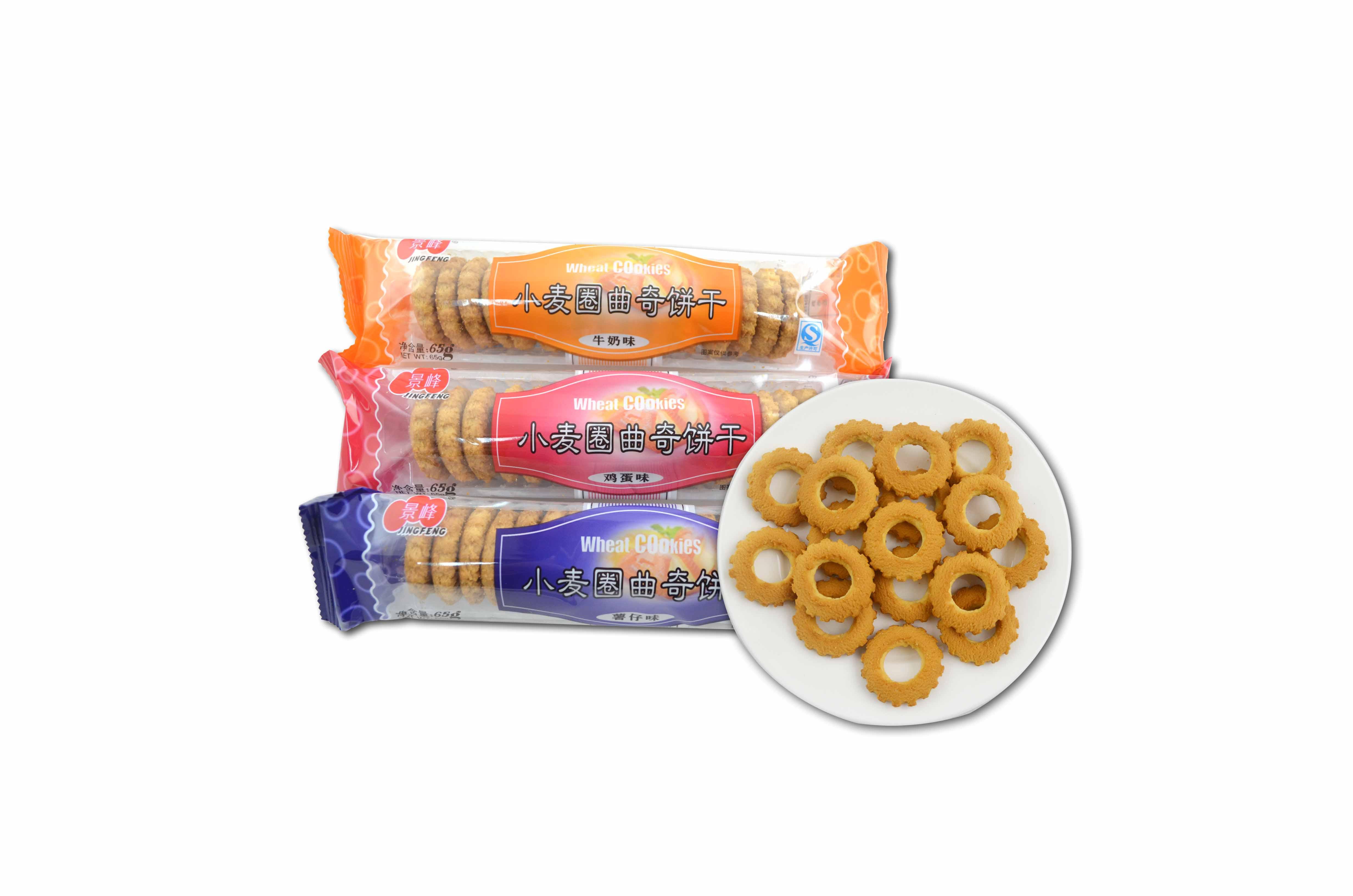 小麦圈曲奇饼干(65g)
