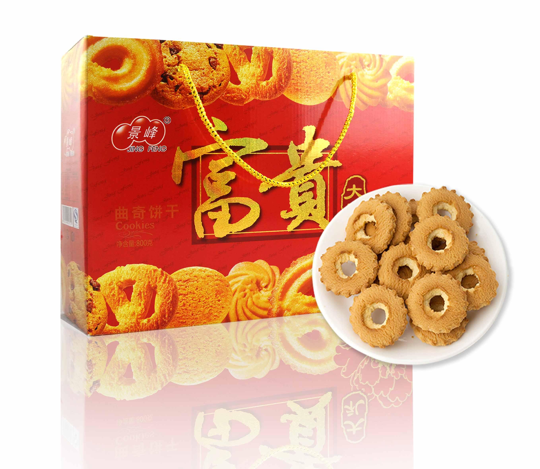 富贵大礼曲奇饼干(800g)
