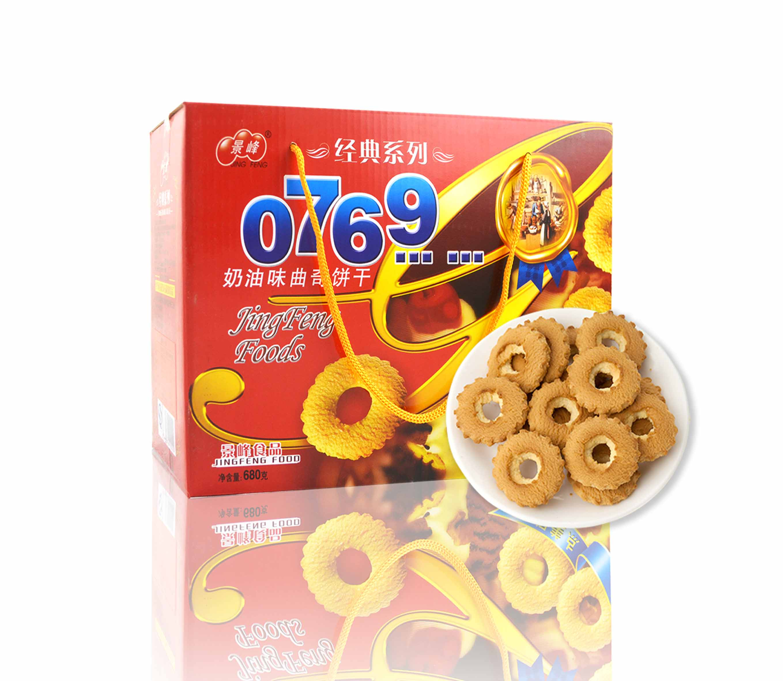 0769 奶油味曲奇饼(680g)