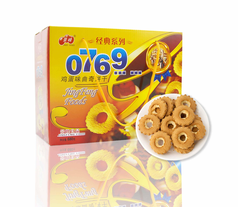 0769 鸡蛋味曲奇饼(680g)