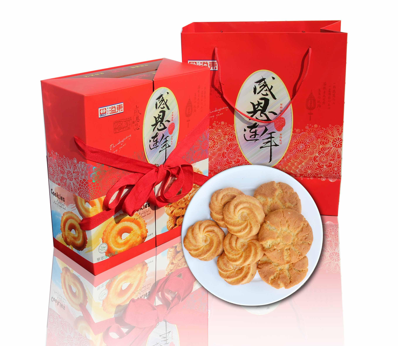 感恩连年曲奇饼(680g)