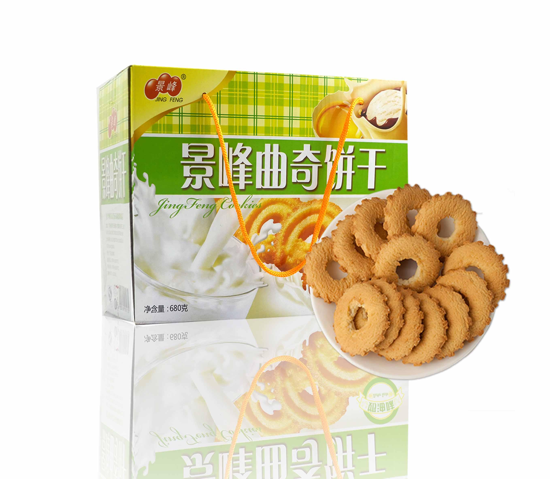 景峰奶油味曲奇饼(680g)