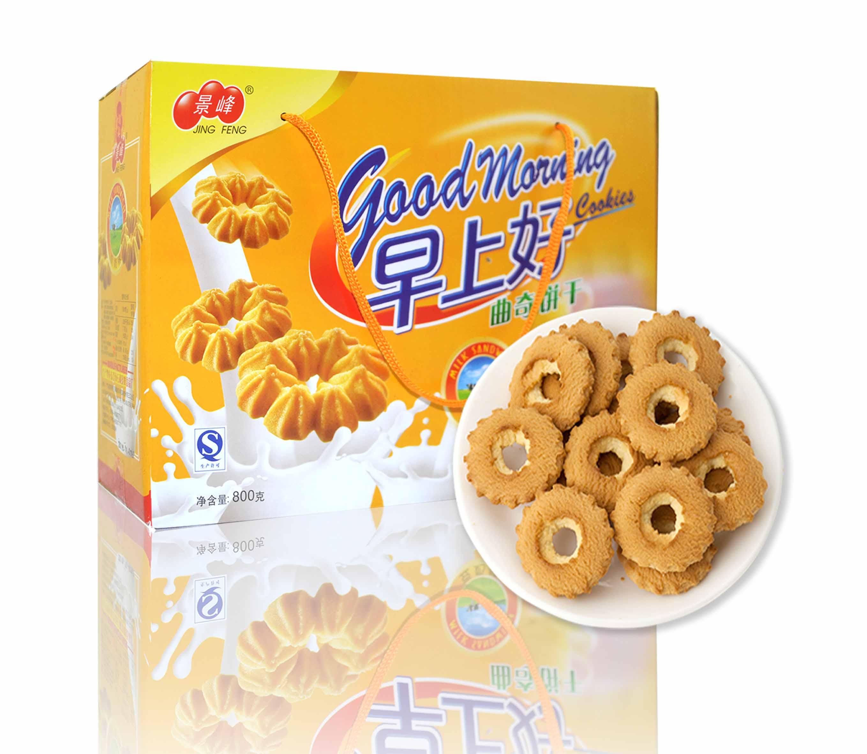 早上好豆奶味曲奇饼干(800g)