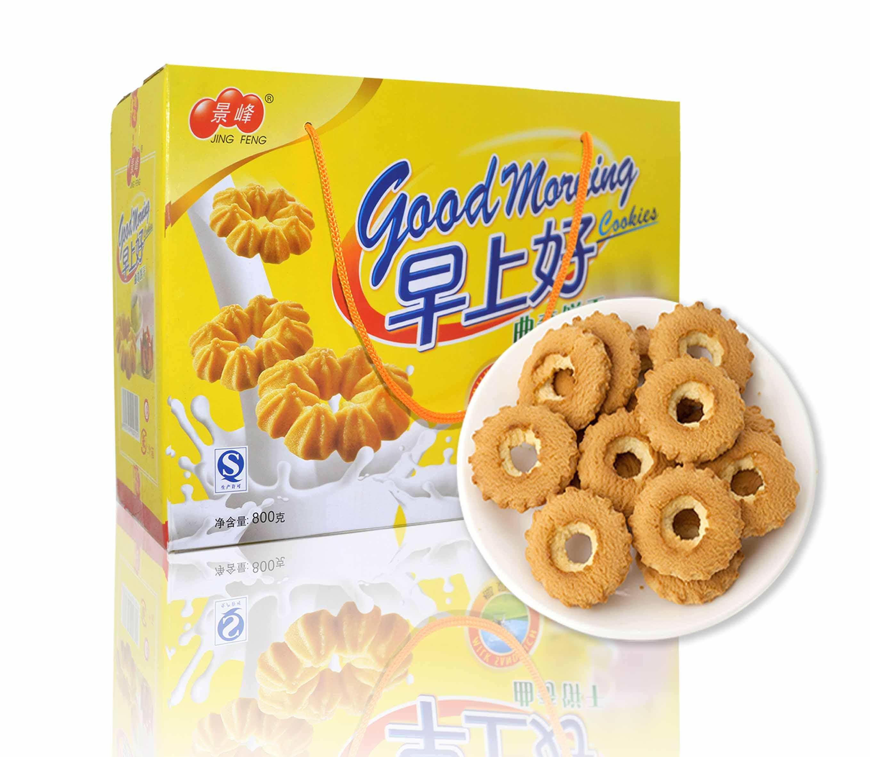 早上好椰奶味曲奇饼干(800g)