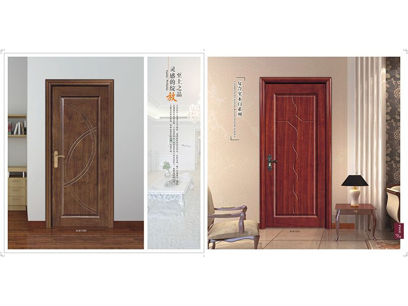 木皮烤漆門