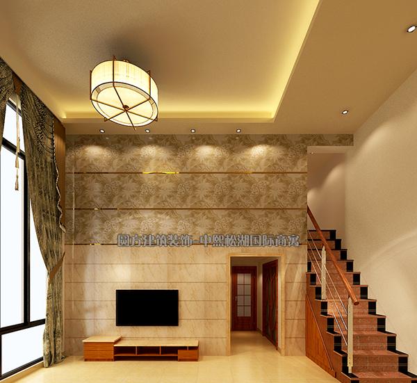 中熙松湖國際商寓-客廳