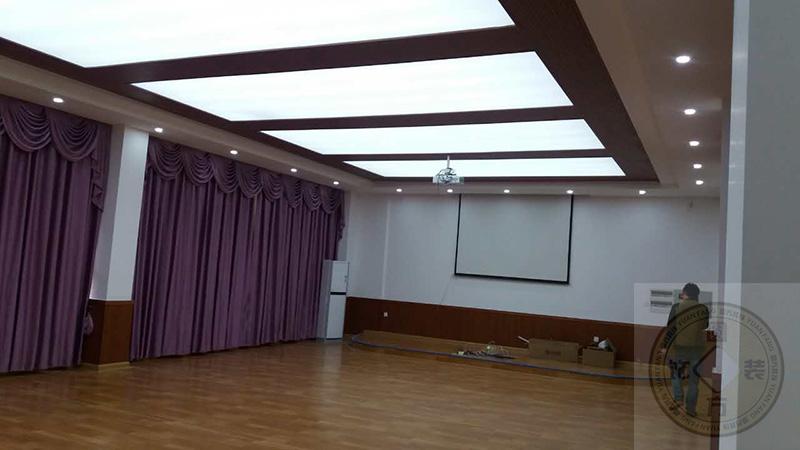 东莞圆方装饰案例—理工学院音乐室