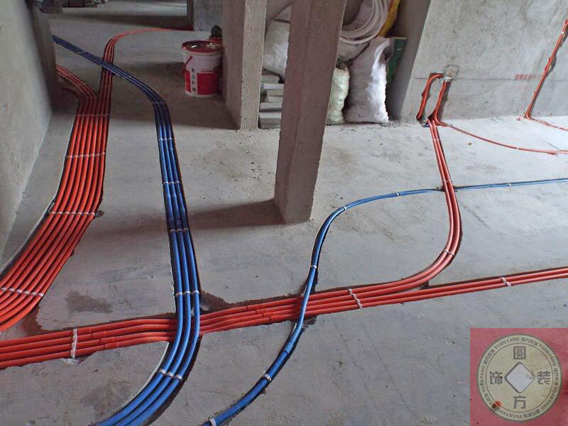 东莞圆方装饰水电安装案例