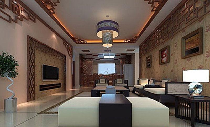 圆方建筑装饰分享-客厅