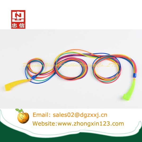 Eyeglasses silicone rubber straps