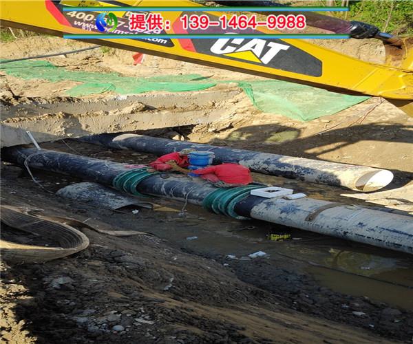 新聞:六安市水下管道敷設--妥善處理