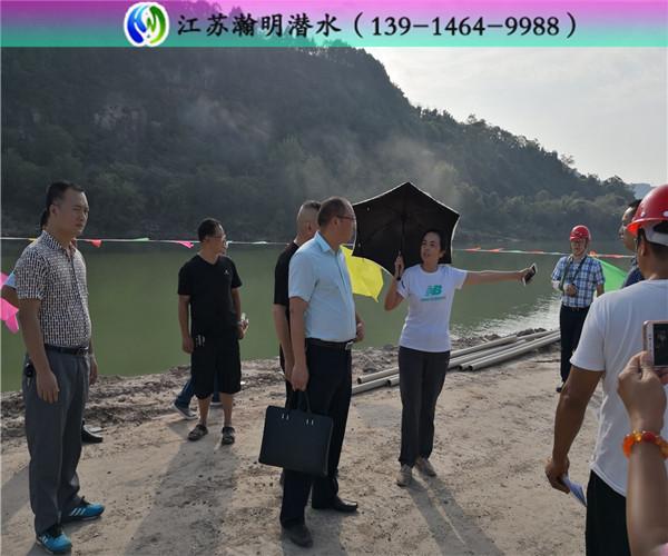 萍乡市沉管水下施工+水利工程
