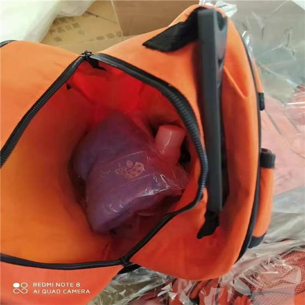 地震自救包防災應急救援包  應急物資救援包