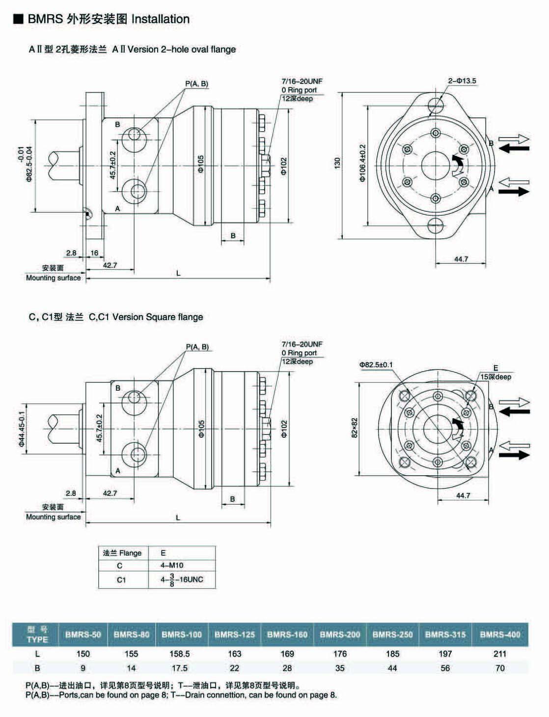 蚌埠BM4-400P1A4Y3,擺線馬達