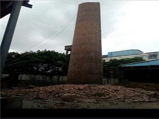 新聞:烏海市磚煙囪人工拆除公司-注重安全單位