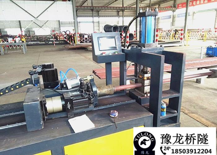 新聞:浙江超前小導管縮尖機鋼管錐度縮尖