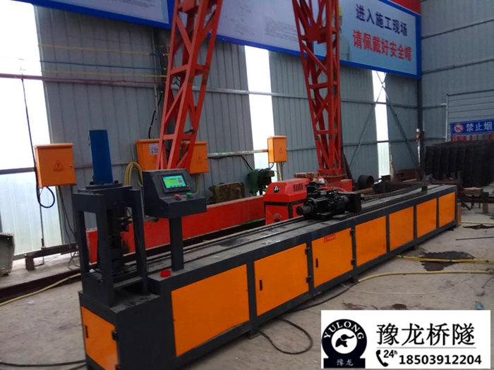 新聞:浙江小導管尖頭機超前小導管加工機