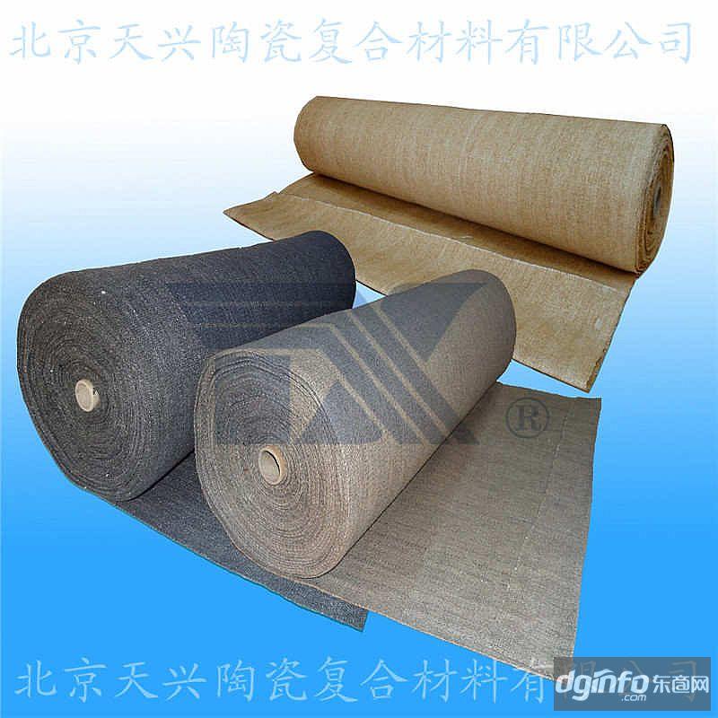 陶瓷纖維布5mm/6mm 超厚耐火保溫布 非標高溫布
