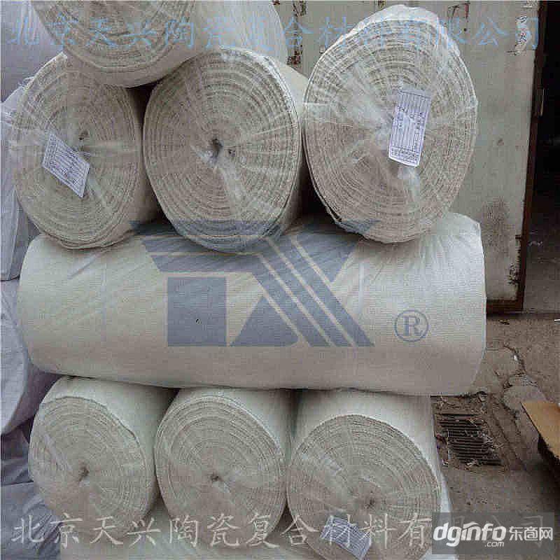 304增強陶瓷纖維布2mmX1mX30m 硅酸鋁保溫耐火布