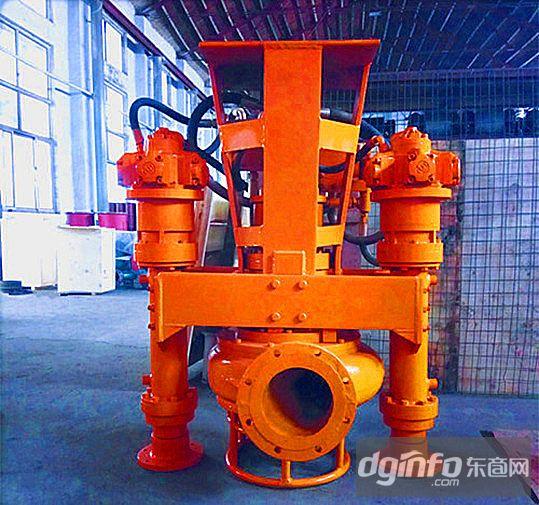 高濃度電動排沙泵潛水渣漿泵耐磨吸泥泵