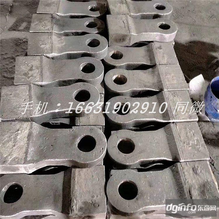 可定制旭曉高鉻雙金屬冷熱復合高耐磨耐沖擊高韌性破碎機粉碎機破石機甩錘