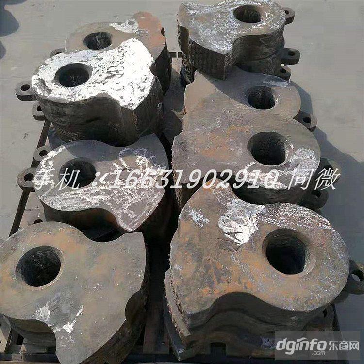 可定制耐磨高錳鋼Mn13Mn18鑲嵌鎢鈦合金錘頭井型方錘甩錘固定錘異型錘