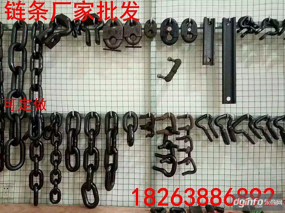 魯興刮板機鏈條連接環 18X64mm礦用鋸齒環圖參數