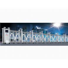 蘭州電動伸縮門價格-好用的蘭州電動伸縮門東杰供應