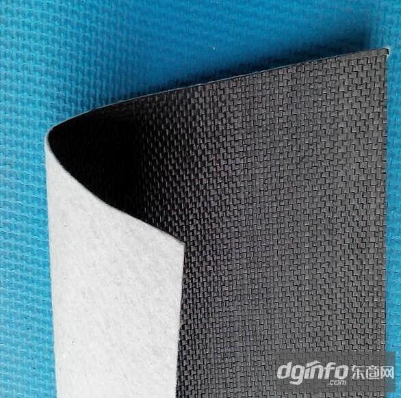 防渗用编织布复合土工膜防水编织土工布