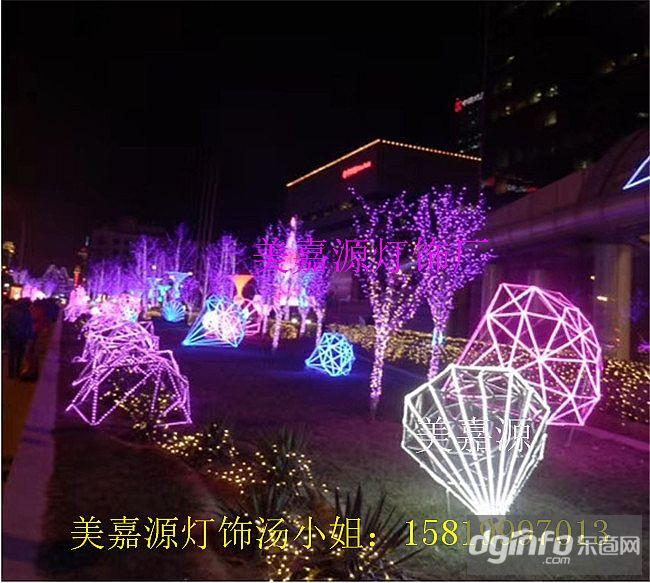 街道亮化燈,LED立體造型燈,路燈桿造型中國夢
