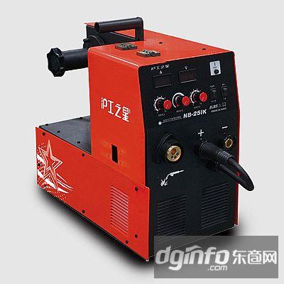 上海沪工电焊机一体式家用薄板气保焊电焊两用二保焊机