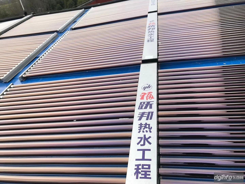 枣庄太阳能集热器 太阳能热水工程 太阳能工程联箱