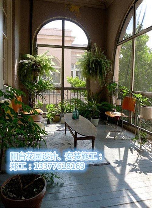 河源别墅花园设计_河源阳台小花园装修新闻图片